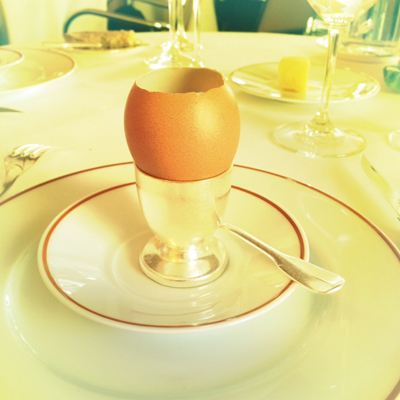 Het ei van Alain Passard