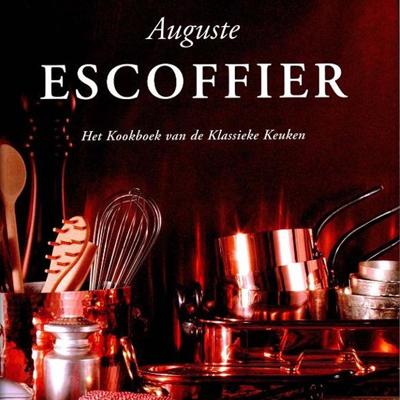 Klassiek kookboek van Escoffier