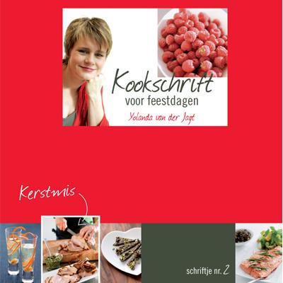 Kookboek Kookschrift voor feestdagen