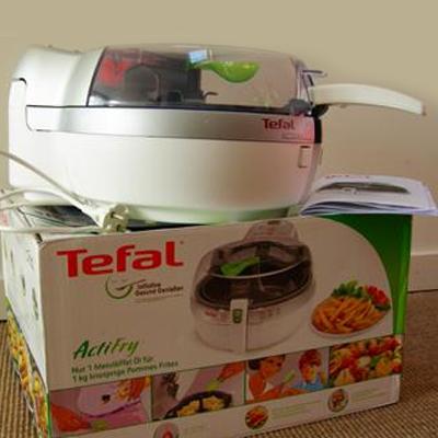Tefal ActiFry: patat met 1 lepel olie