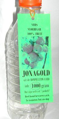 Jonagold vers appelsap