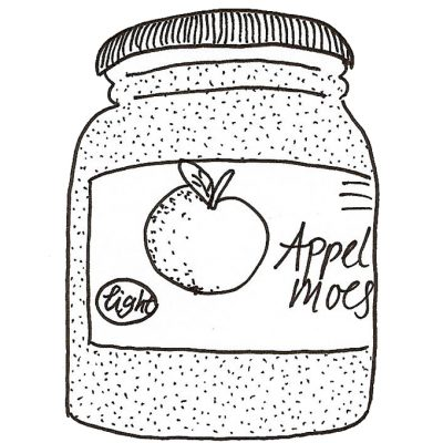 Appelmoes (niet uit een potje)