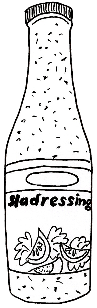 sladressing-flesje