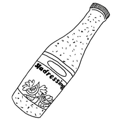 Vinaigrette (niet uit een flesje)