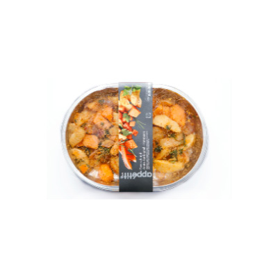 Kerstmenu bijgerecht: Zoete aardappel uit de oven