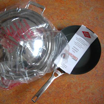 Infinite Circulon wok en koekenpan