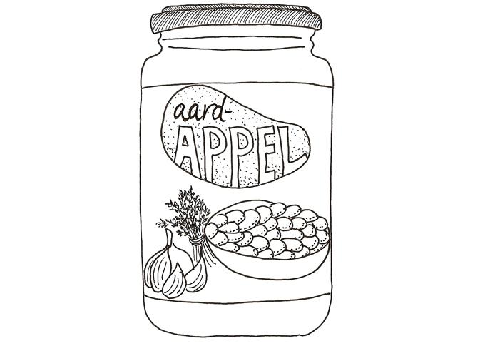 aardappelanders-pot