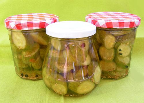 augurken inmaken - koken met karin