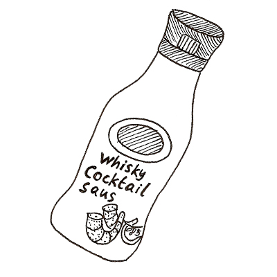 Whisky-cocktailsaus