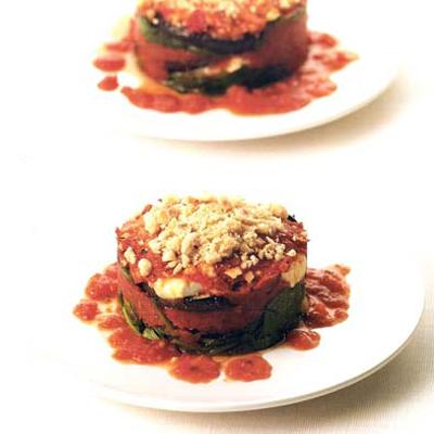 Provençaalse groentetaartjes,
