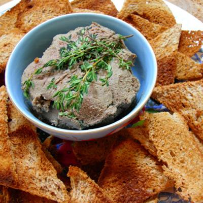 Nep-foie gras: Kippenlevertjespaté