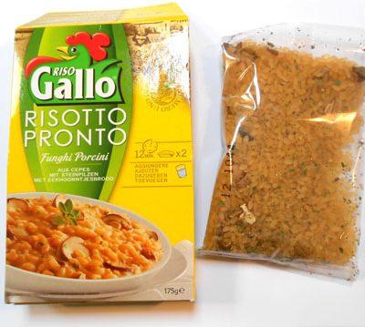 Risotto Gallo uit een pakje