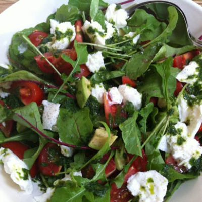 Salade met rucola