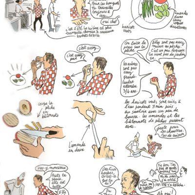 Sperziebonen volgens Alain Passard