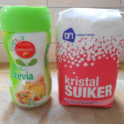 Bah. Bakken met Canderel Stevia