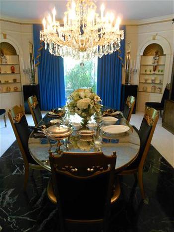 Eten bij elvis koken met karin - Lay outs binnenkomst in het huis ...