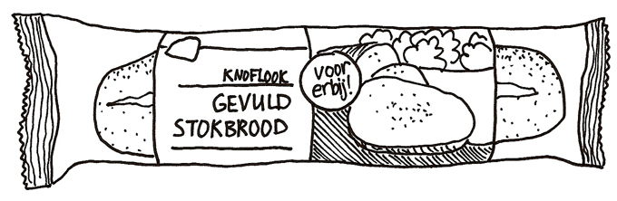 knoflookbrood-pakje