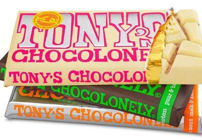 Nieuw van Tony's Chocolonely