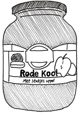 rodekool-potje