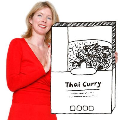 Curry zonder kip