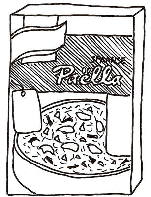 paella-pakje