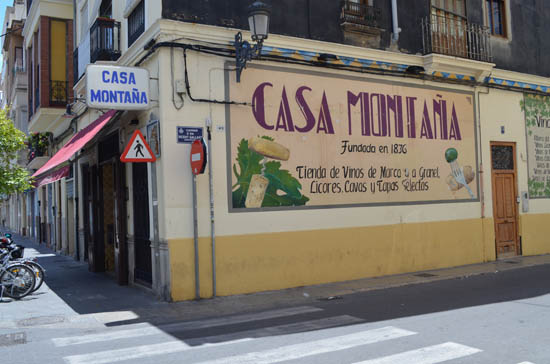 Valencia casa montana