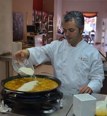 Valencia paella