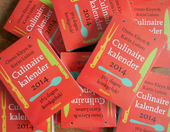 culinaire kalender 2014