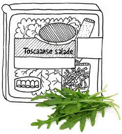 Toscaanse salade