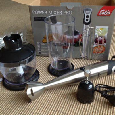 Staafmixer test: Solis Power Mixer Pro