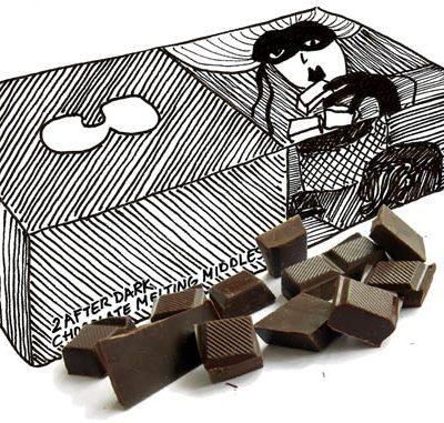 Warme chocoladetoetjes (moelleux au chocola)