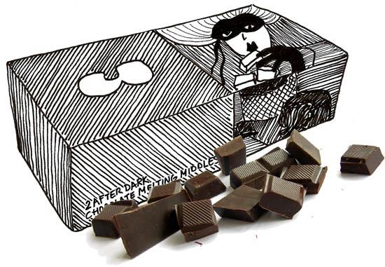 Warme Chocoladetaartjes