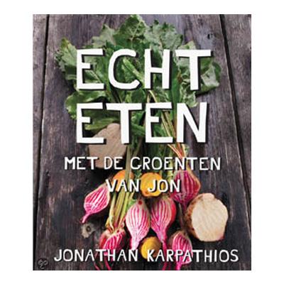 Kookboek Echt Eten van Jonathan Karpathios