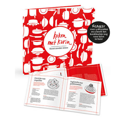 Gratis Trouw + boekje met Karins kerstmenu's