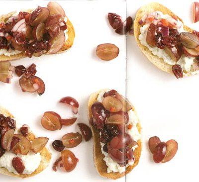 Lunchrecept: broodjes blauwe kaas en cranberry