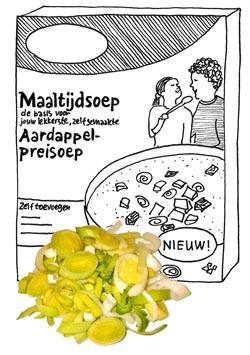 aardappel preisoep Honig