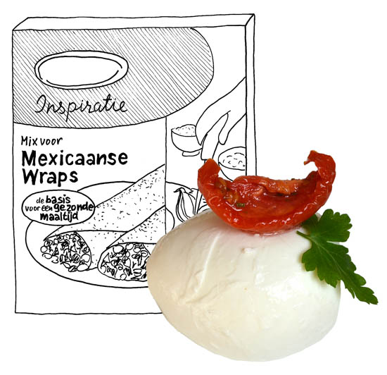Italiaanse Wraps