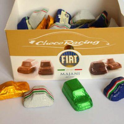 Chocolaatjes Fiat Cremino van Majani