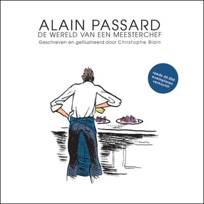 Stripboek Alain Passard