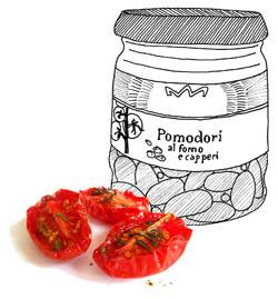 gedroogde tomaten saclà