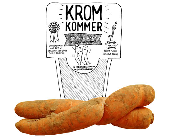 wortelsoep kromkommer