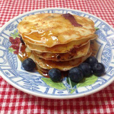 Wereldgerecht USA: Blueberry pancakes