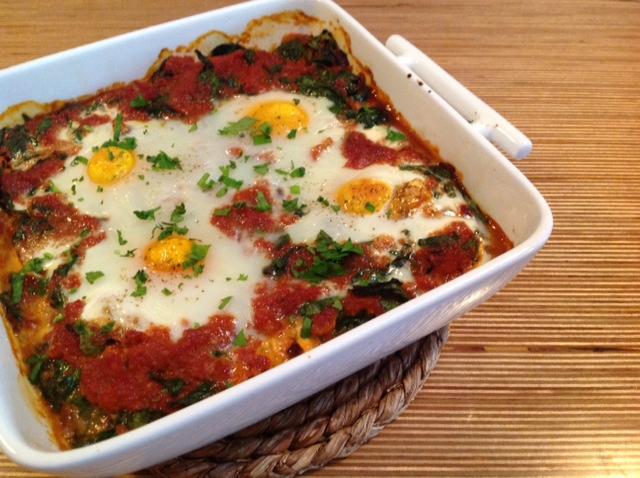 spinazie-tomaat-ei
