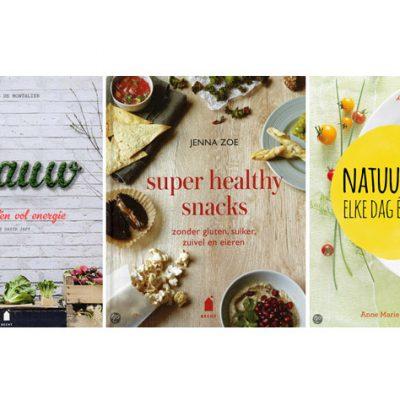 Nog meer healthy kookboeken