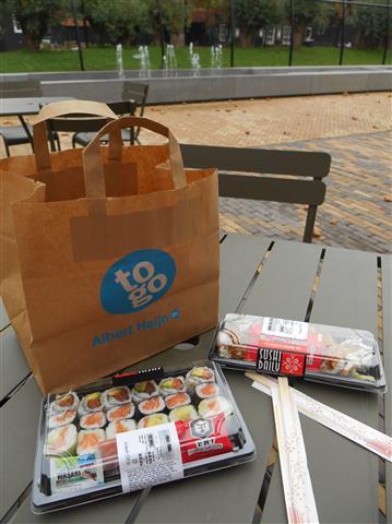 sushi AH to go
