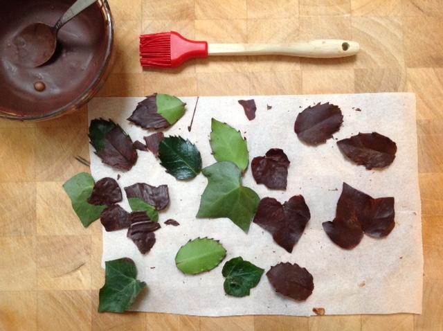 7 simpele garneertrucs met chocola koken met karin for Versiering taart zelf maken