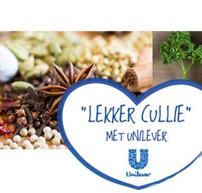 Lekker Cullie met Unilever?!