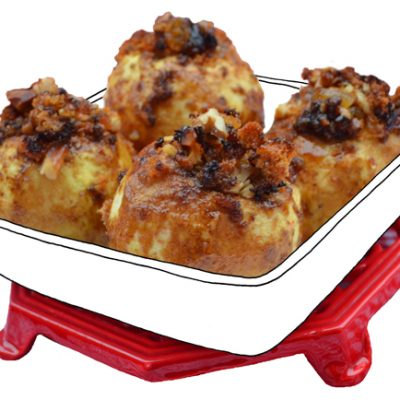 Kliekjestoetje: Appeltjes uit de oven