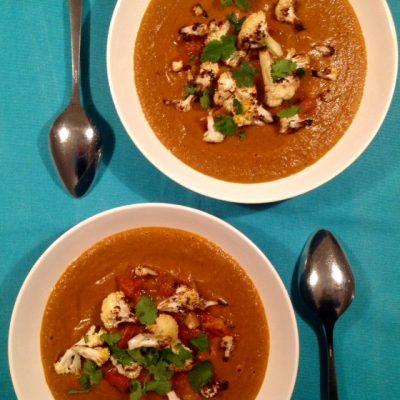 Kliekjes: chili-sin-carne-soep