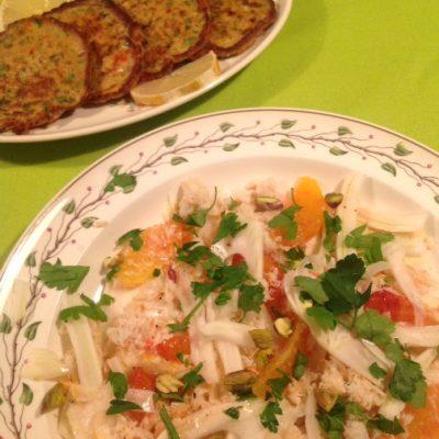 Kliekjes: krabsalade met venkel